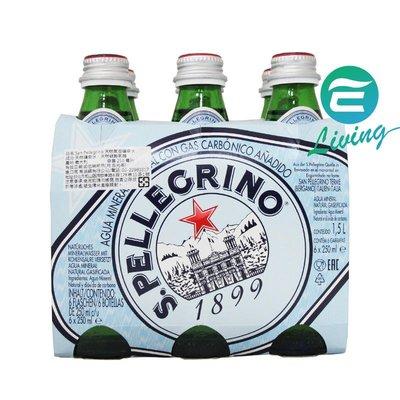 【易油網】S.Pellegrino 天然氣泡礦泉水(250mlx24入)