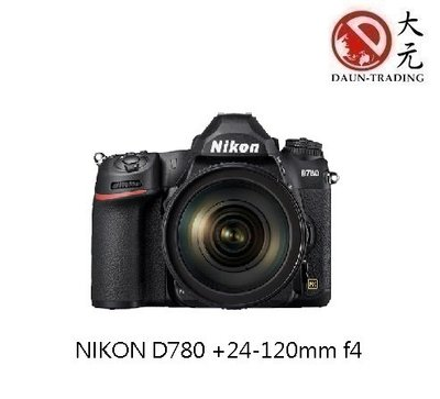 *大元˙新北*【預購 新機上市】 NIKON D780  24-120mm F4 公司貨