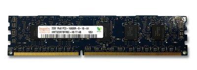 伺服器記憶體 DDR3 2G