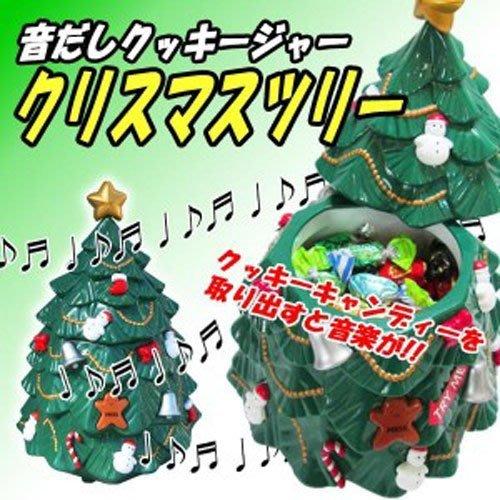 (I LOVE樂多)日本進口商品 聖誕樹糖果罐(會發聲) 送禮 自用 迎賓皆可喔