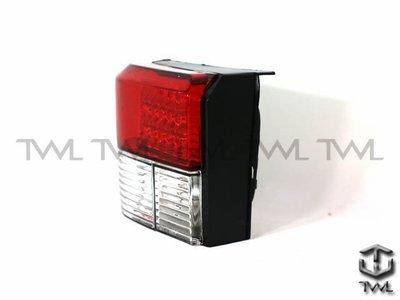 《※台灣之光※》全新VW T4 93 94 95 96 97 98 99 00 01 02 03 04年 VR6高品質紅白晶鑽LED尾燈組
