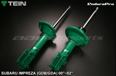 『通信販售』 TEIN EnduraPro IMPREZA GDA GDB 高性能避震器 原廠型避震器 00-02