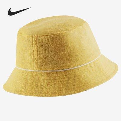 常安漁夫帽Nike/耐克正品夏季新款SPORTSWEAR RETRO 女子漁夫運動帽CU7260