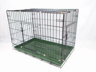 【優比寵物】3尺(雙門=正門+側門)活動摺疊式/折疊式靜電粉體烤漆兔籠/狗籠/貓籠 /寵物籠-台灣製造-優惠價-