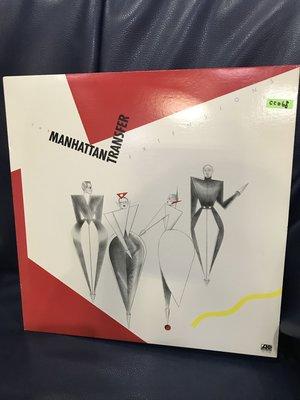開心唱片 (MANHATTAN TRANSFER / EXTENSIONS) 二手 黑膠唱片 CC068