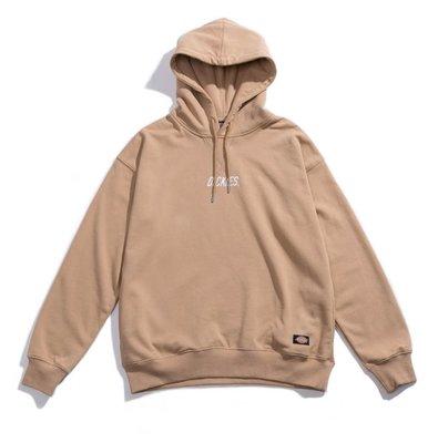 GOSPEL【DICKIES Dropped shoulder hoodie】 落肩款 帽T 卡其 DA8270471