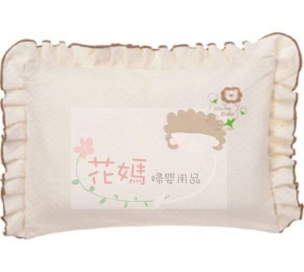 ☆╮花媽╭☆小獅王辛巴Simba 有機棉荷葉枕 S5014-3