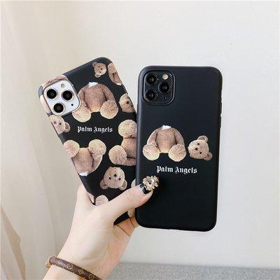 Ryneetins潮牌熊適用iPhone12/11pro手機殼XsMax/Mini蘋果軟殼7/8plus女