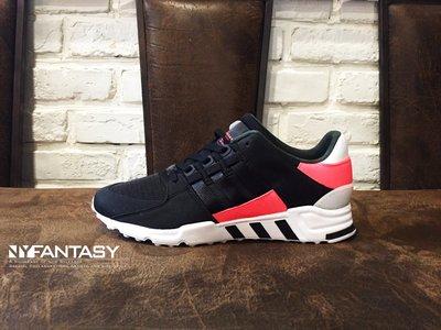 【紐約范特西】Adidas EQT RUNNING SUPPORT 93 BB2954 經典跑鞋全黑粉紅白 女/ 大童鞋 台北市