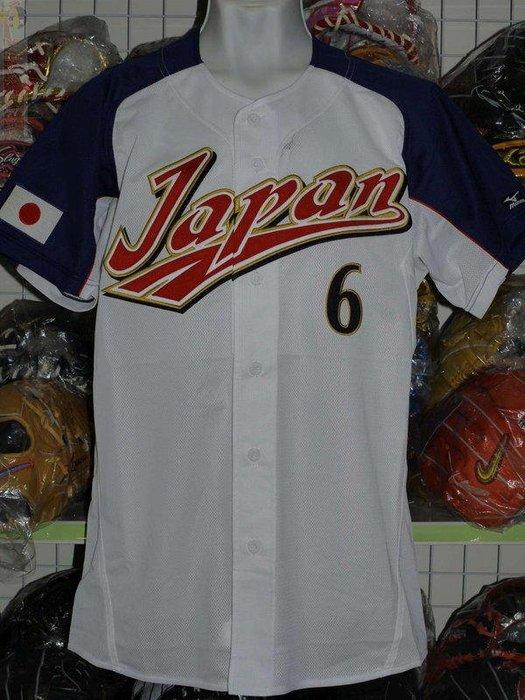 貳拾肆棒球--限定 Mizuno pro 2006WBC日本代表多村仁志主場球員版球衣