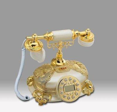福利館◎【復古風仿電話x免運優惠中x贈USB燈】GDB-251A 一帆風順(珍珠白) 經典電話