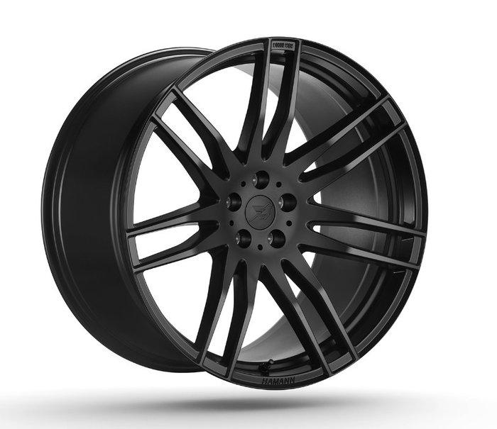 國豐動力 HAMANN CHALLENGE BLACK SILVER 黑 銀二色鑄造22吋 鋁圈 歡迎洽詢