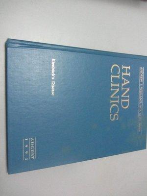 欣欣小棧    骨科原文雜誌*Hand Clinics 1993  august(A2-3櫃)