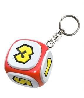 [裘比屋]特-NS 超級瑪利歐派對 特典 骰子 鑰匙圈(約5*5*5cm) 040