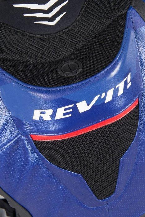 【柏霖動機 台中門市】荷蘭 REVIT  HYPER SPEED 連身皮衣 FOL033 皮衣 連身  藍 送賽道體驗?