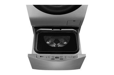 【晨光電器】LG 2KG 【 WT-D200HV】迷你洗衣機  (加熱洗衣) 【可搭WD-S12GV】上下洗省時省空間