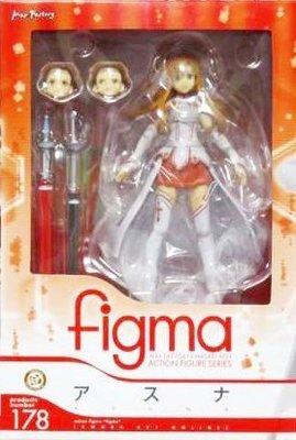 日本正版 figma 刀劍神域 SAO 亞絲娜 可動 模型 公仔 日本代購