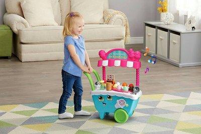媽媽寶寶出租幼童玩具leap frong ice cream charts/ 冰淇淋 推車販賣扮家家酒角色扮演