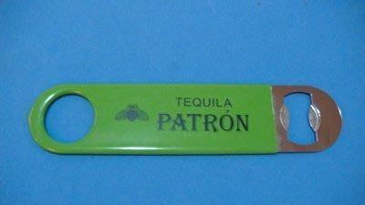 @ PATRON TEQUILA 培恩龍舌蘭 不銹鋼開瓶器 綠 @