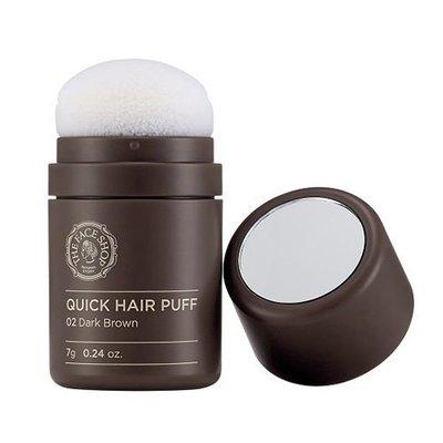 【韓Lin連線代購 】韓國 The Face Shop自然遮色粉撲氣墊髮粉 髮際線修飾 小臉神器 自然棕&深棕