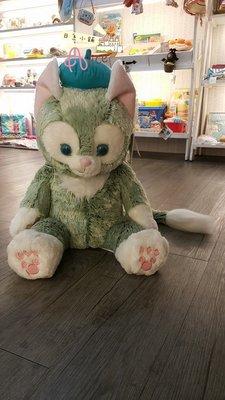 ☆愛莉詩☆東京迪士尼限定~貓咪東尼 畫家貓 吉拉東尼 絨毛玩偶-M號 有現貨 日本連線