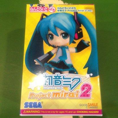 """""""毛毛的窩"""" 3DS 初音未來:未來計劃2 (日本)附筆記簿玩偶和貼紙(没有遊戲片)~全新未拆"""