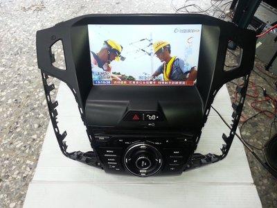 福特FOCUS 專用8吋DVD+HD數位+USB+SD+藍芽 觸控螢幕主機.非新品.功能正常