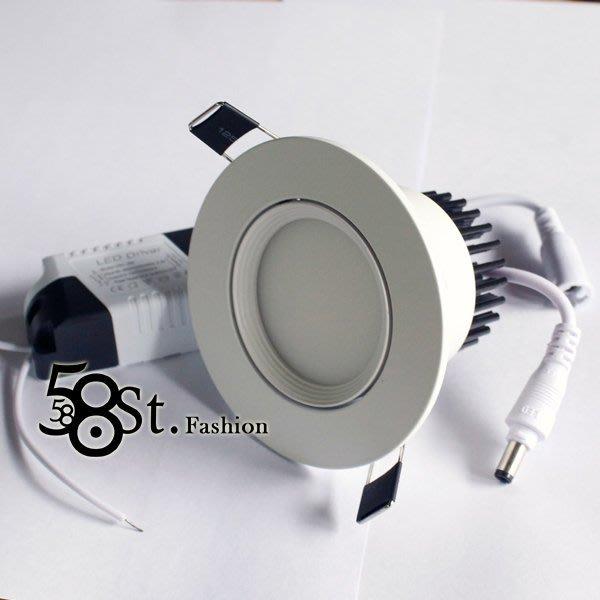 【58街】正台灣製 COB /LED崁燈3W 崁燈_,採用台灣晶元光電芯片_LED杯燈、LED燈泡。GC-315