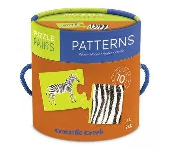 【小糖雜貨舖】美國 Crocodile Creek 寶寶 配對 拼圖 - 圖形