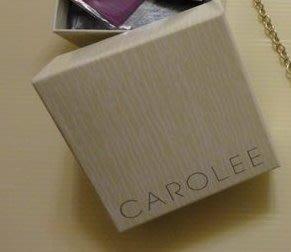 👍現貨真品CAROLEE卡羅莉項鍊紙盒+提袋   AnnaSUi  紙袋👍