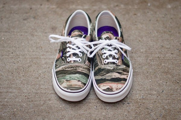 { POISON } VANS x LIBERTY ERA MOUNTAIN GREEN CAMO 山岳迷彩 聯名鞋款