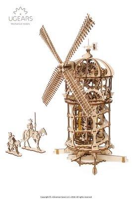 Ugears 唐吉軻德的風車 Tower Windmill 烏克蘭精品模型 環保木製 唐吉軻德幻想冒險之旅