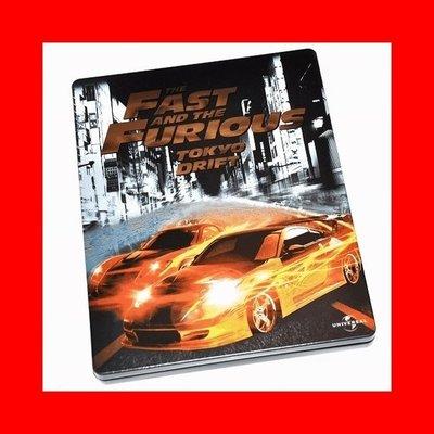 【BD藍光】玩命關頭 3 東京甩尾:環球影業100週年限定鐵盒版Fast And The Furious 3