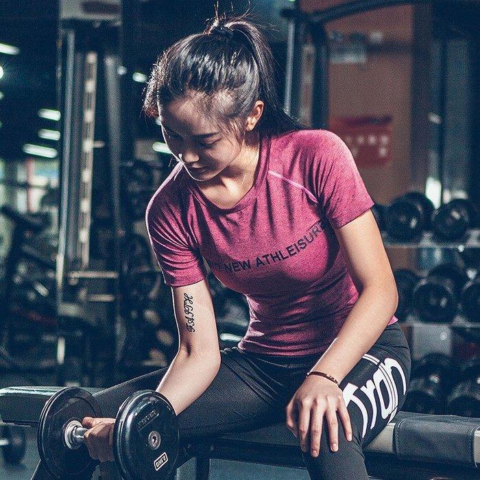短袖運動T恤 路跑 網球服 彈力瑜伽健身 羽球衣 涼感機能運動衣推薦 哪裡買  A8213 路依坊