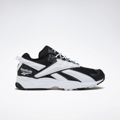 Reebok Classic 全新 INTERVAL 96 黑色 白色流線撞色 運動鞋 休閒鞋 復古鞋 FV5521