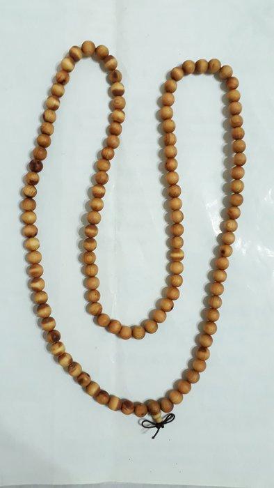 【九龍藝品】崖柏108顆 ~ 珠子約8mm,約22公克【1】競標