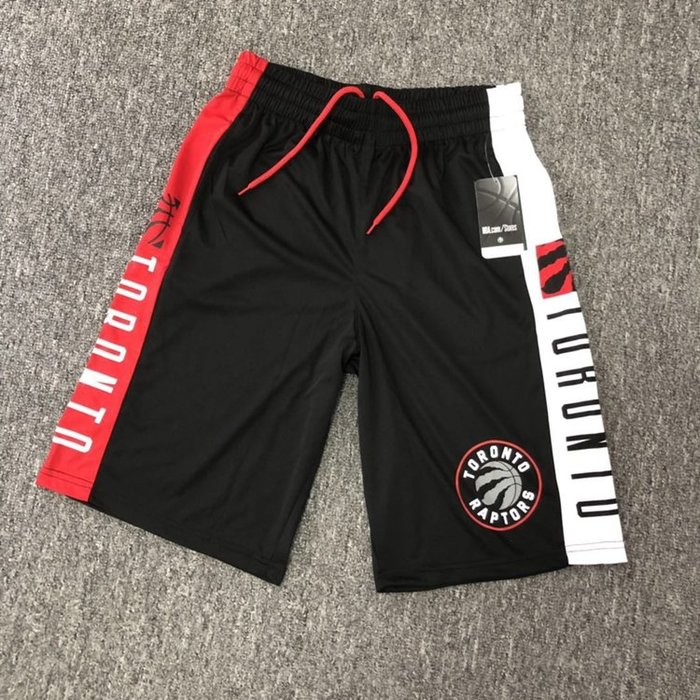 NBA籃球短褲 多倫多暴龍隊 Leonard  Lowry  口袋版 運動籃球褲 正版