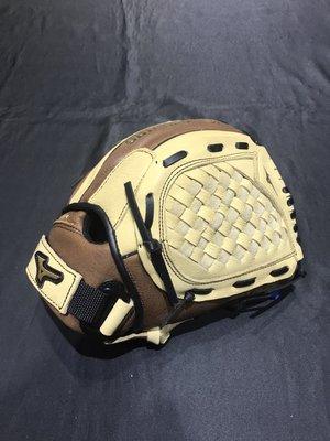 棒球世界Mizuno 美津濃 新款 PROSPECT 少年用棒球牛皮手套(312963.) 特價11.5吋