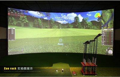 高爾夫球桿PGM新款!  高爾夫亞克力球桿展示架 15洞球桿架子 收納練習場用品