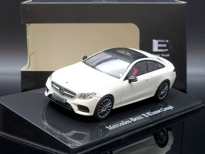 【M.A.S.H】現貨瘋狂價 原廠 i Scale 1/43 Mercedes-Benz E-Class Coupe 白