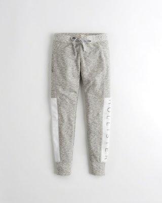 【天普小棧】HOLLISTER Graphic High-Rise Fleece Leggings內搭緊身運動長褲S號