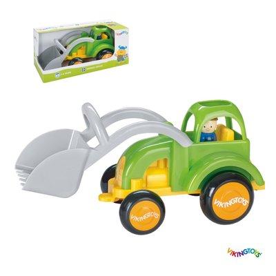 【晴晴百寶盒】瑞典進口 超強推土機 VIKINGTOYS 男孩最愛 車車控 禮物益智遊戲玩具高品質W207