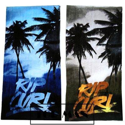 【TOP MAN】 RIP CURL 純棉 大浴巾/毛巾/沙灘巾/海灘/泳池 140x70cm 8151240