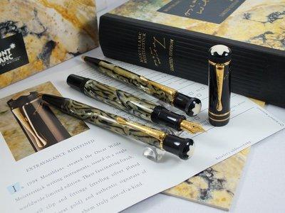 ~世界名筆交流~萬寶龍1994年文學家系列 Oscar Wilde 王爾德 3枝裝同號套筆