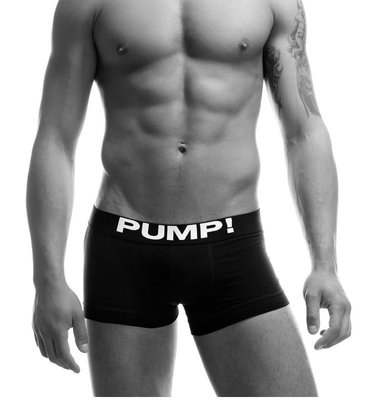 出清下殺! 時尚品牌PUMP男內褲紳士平口4角內褲95%棉柔軟舒服吸汗又保溫M/L/XL~黑/白 共2色~