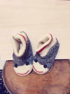 Roots 嬰兒毛線鞋