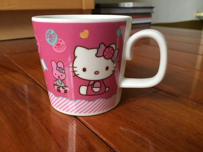 全新 日本帶回 日本製 Hello Kitty 可愛 居家 陶瓷 馬克杯 市面無售 拍賣唯一