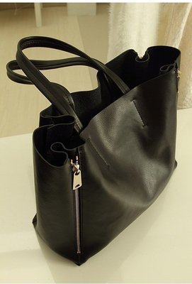 歐美 專櫃款 肩背 手提 皮革 子母包 托特 大包 現貨  購物包 大號 限時降【ME GUSTA】