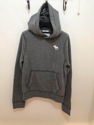 A&F 男童 麋鹿LOGO帽TEE 灰色 尺寸L / XL 全新 現貨