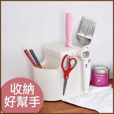 浴室/廚房/臥室【居家大師】KSF07 廚房必備刀筷收納架